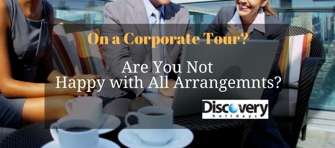 corporate tour organizers